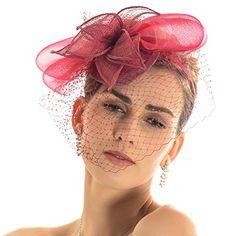 Sinamay Fascinator Cocktail Hat with Netting Headband (Claret) Fanny http://www.amazon.com/dp/B00UADG4T8/ref=cm_sw_r_pi_dp_jlqlvb1NNT8K4