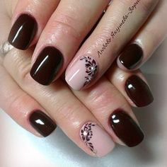 VK is the largest European social network with more than 100 million active users. Short Nail Manicure, Shellac Nails, Manicure And Pedicure, Toe Nails, Nagellack Design, Nagellack Trends, Nail Deco, Modern Nails, Nail Time