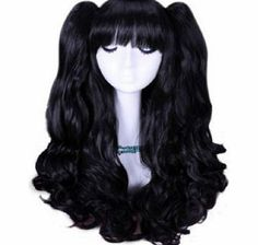 L-email cosplay® Fast shipping from UK L-email beautiful 50cm Long Black Lolita Clip on Ponytails Cosplay Hair Wig Rw No description (Barcode EAN = 0786471383926). http://www.comparestoreprices.co.uk/wig-care-products/l-email-cosplay®-fast-shipping-from-uk-l-email-beautiful-50cm-long-black-lolita-clip-on-ponytails-cosplay-hair-wig-rw.asp