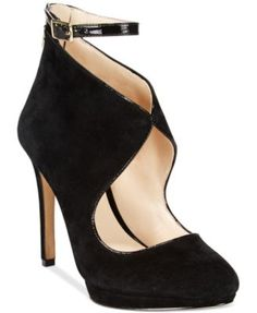 INC International Concepts Women's Binee Platform Pumps, Only at Macy's