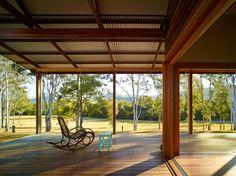 Hinterland House by Shaun Lockyer Architects (via Lunchbox Architect)