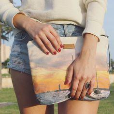 My new favorite piece - more pics on hollylovespaul.com  #bolsoslaisla #hollylovespaul #fashionblogger #mallorca #travel #bolsodemano #sunset #fashion #outfitpost #ootd #balears #outfitinspiration #travelblogger #alcudia #instalike #instadaily #style #followme #mallorcablogs #photooftheday #pullandbear #mango by laurahlp