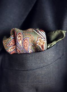 A great pocket square