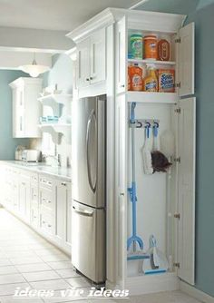 Neat idea for storage space