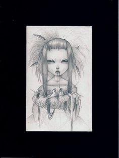 "PAOLO PEDRONI ""Untitled ""  sketch  - Grafite su carta   original drawing    8x13 cm   http://www.paolopedroni.com/"