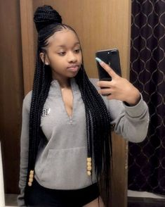 # cute hairstyles # protective hairstyles # hairstyles for black teens # braids . # cute hairstyles # protective hairstyles # hairstyles for black teens # braids … # cute hairst Braided Hairstyles For Teens, Box Braids Hairstyles For Black Women, African Braids Hairstyles, Teen Hairstyles, Protective Hairstyles, Braid Hairstyles With Weave, Protective Styles, Braided Cornrow Hairstyles, Lemonade Braids Hairstyles