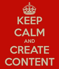 create VALUABLE ...dynamic ...informative ...reaching content!
