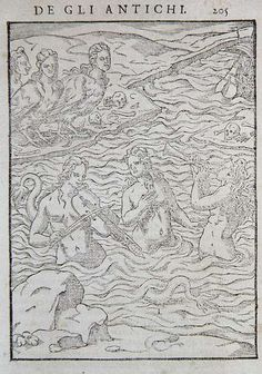 [ C ] Vincenzo Cartari - Sirens and Harpies Luring Sailors to their Deaths by Cea., via Flickr
