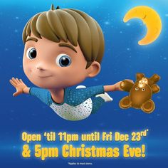 Last minute shopper? :) Not to worry! #SmythsToysSuperstores are open 'til 11PM until Dec 23rd & 5PM Christmas Eve! #IfIWereAToy T&Cs Apply  #smyths #smythstoys #smythstoyssuperstores #toystagram #heyletsplay #ifiwereatoy #oscar #love #uk #ireland #toys #fun #monday #instagood #moana #disney #disneymoana
