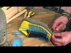 How to make Paracord Sandals - YouTube