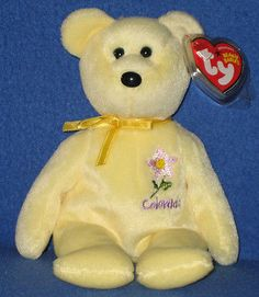 61d54621f1f Beanbag Plush 49019  Ty Colorado Columbine State Flower Beanie Baby - Exclusive  Mint With Mint