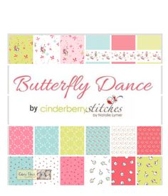 Butterfly Dance 10 inch Square Stacker Riley Blake