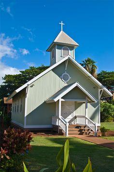 Lahuiokalani Kaanapali Congregational Church.  MAUI.