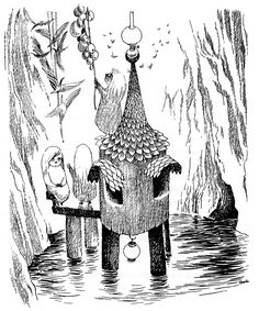 tove jansson_alice in (JPEG Image, 1333 × 1600 pixels) - Scaled Tove Jansson, Alice In Wonderland Book, Children's Book Illustration, Art Illustrations, Book Art, Drawings, Artwork, Painting, Moomin Valley