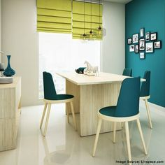 For a fresh tranquil vibe, introduce teal in the interiors of your home.
