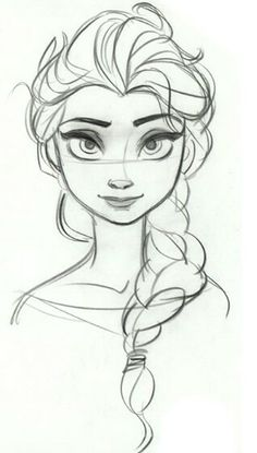 How to draw disney characters how to draw tinkerbell for Disegnare elsa frozen