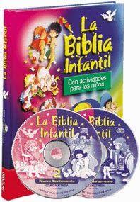 LIBROS: BIBLIA INFANTIL