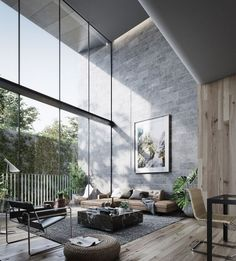 Modern living room decor with grey color, modern and chic design. Living room would be the first impression of your home, so get more energy to decorate it untill it becomes your style. You will find some modern decor ideas via this gallery. Hope you enjoy this discovery and get inspired. Click NEXT PAGE below to start browsing the gallery and happy pinning.