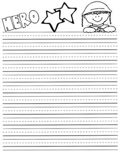 Veteran's Day Writing Paper {FREEBIE} Free Veterans Day, Veterans Day Activities, Writing Activities, School Holidays, School Fun, Writing Paper, Writing Prompts, Second Grade Writing, Kindergarten Writing