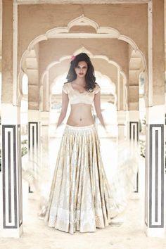 ANITA DONGRE BRIDAL - Spring/Summer '12 Taken in Jaipur, Rajasthan Photographer: Colston Julian Model: Jyothsna Chakravarthy