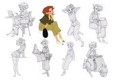 "Borja Montoro Character Design: Character design for The SPA Studio's ""Giacomo's Secret""."