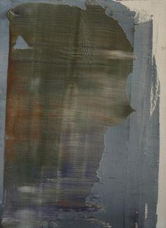 """Koen Lybaert; Oil 2014 Painting """"abstract N° 916"""""""