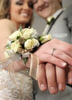 Prom Pose | Studio | Wedding Pose | Corsage | Teen Poses | Faulkner Photography