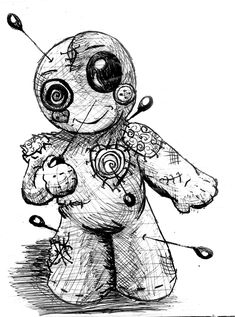 I voodoo you by InkyDinkyWho.deviantart.com on @DeviantArt