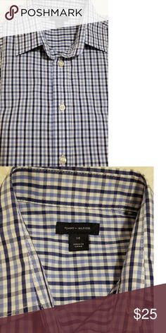 7ee2fca26f95 Tommy Hilfiger shirt Dressy shirt. Excellent condition. Smoke free home.  Worn once. Tommy Hilfiger Shirts   Tops Button Down Shirts