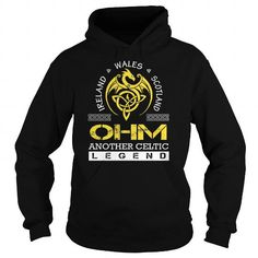 Awesome Tee OHM Legend - OHM Last Name, Surname T-Shirt T-Shirts