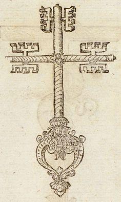 Pictura of Paradin, Claude: Devises heroïques (1557): Hîc ratio tentandi aditus.
