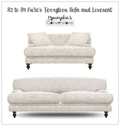 Sims 4 CC's - The Best: TS3 Sofa and Chairs Conversions by 13Pumpkin31