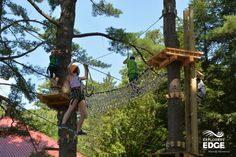 Adventure through the trees in #cottagecountry at one of the zip lining and aerial parks in Muskoka. http://explorersedge.ca/stories/to-the-trees-zip-lines-and-aerial-parks-in-explorers-edge/ #zipline #treetoptrekking #aerialpark