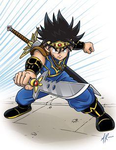 Dragon Quest Dragon Quest Fly, Dragon Quest Tattoo, Manga Art, Anime Manga, Action Pose Reference, Japanese Games, Old Anime, Pokemon, Thundercats