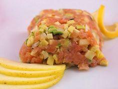 Kuchnia w wersji light: Tatar z łososia wędzonego z jabłkiem