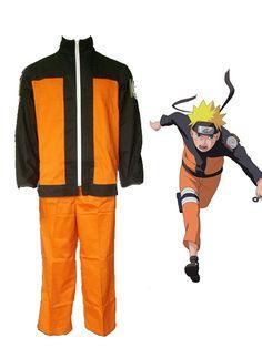 Naruto Uzumaki Naruto Cosplay Costume 2nd - Merpher.L