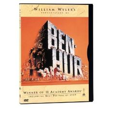 Academy Awards Best Picture 1959: Ben-Hur   **Other Nominees: Anatomy of a Murder, The Diary of Anne Frank, The Nun's Story, Room at the Top