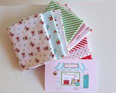 Tasha Noel fabric posted by Pam Kitty Morning, via Flickr