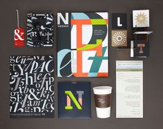 Neenah Paper Fresh Takes on Classic Type on Behance