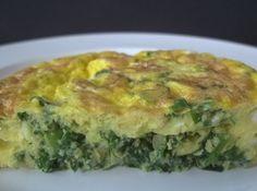 Omelete de Espinafre - Veja como fazer em: http://cybercook.com.br/receita-de-omelete-de-espinafre-r-16-114085.html?pinterest-rec