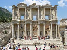 Biblioteca de Efeso, Turquia