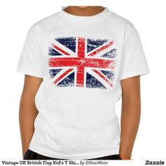 Vintage UK British Flag t-shirt. 40% OFF CLOTHING! Ends 6-22, 11:59 PM PT.  CODE: UTRYTHISON40