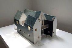 Housecut | Nhà ở Tokyo, Nhật Bản – Starpilots | KIẾN TRÚC NHÀ NGÓI