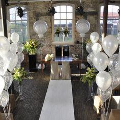 1000 images about ballonnen bruiloft on pinterest for Ballonnen versiering zelf maken