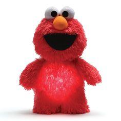 Elmo Glow Pal Night Light Sesame Street Toy Plush