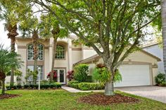 New On The Market: Highly sought after gated community of Maple Isle in the heart of Jupiter, this 2-story, 4 bedroom, 3 bath home with inground pool is pristine and move in ready.