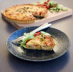 Kycklingpaj Swedish Recipes, Comfort Food, Creme Fraiche, Food Pictures, Baked Potato, Quiche, Chicken Recipes, Food And Drink, Pizza