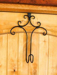 DECORATIVE WREATH HANGER-Door Hanger-got mine at joann's for $5!!