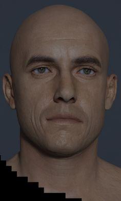 Castaway Head Vray test., Etienne Jabbour on ArtStation at http://www.artstation.com/artwork/castaway-head-vray-test