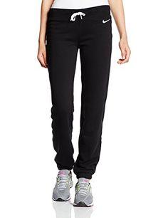 Nike Club French Terry Swoosh Pantalon de sport pour femme XS Noir - noir  blanc  Amazon.fr  Sports et Loisirs c12e476d88d3f